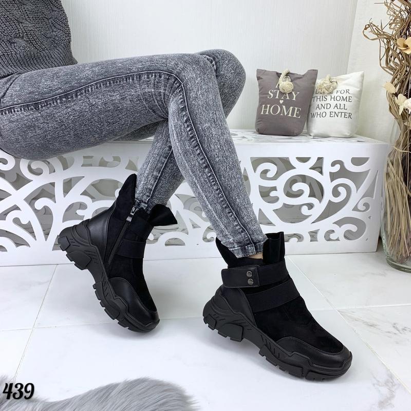 Стильные ботиночки новинка - Фото 4