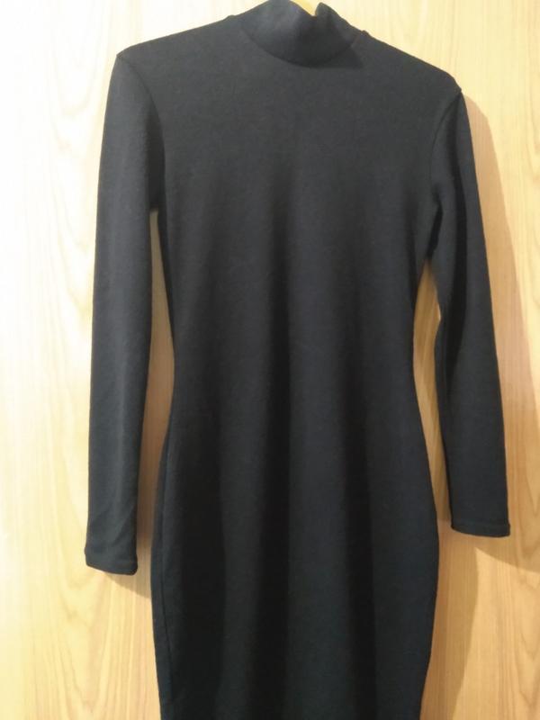 Базовое черное платье/ платье  черное/длинное черное платье