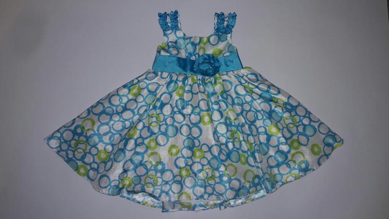Наглядное пышное платье на 2 года