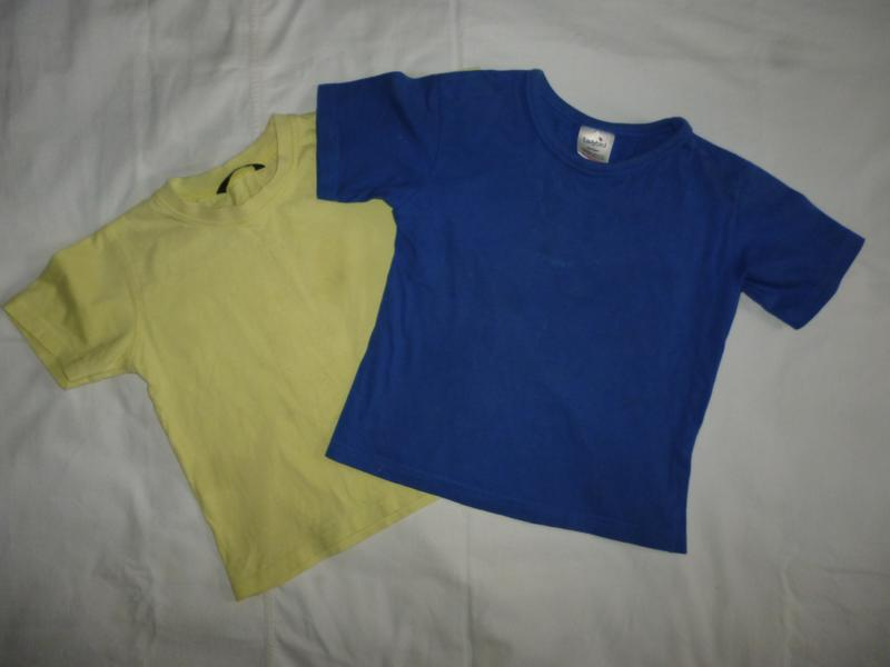 Футболка,футболки на 4-5 лет одним лотом