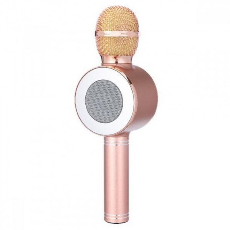 Микрофон-колонка bluetooth WS-668 - Фото 2