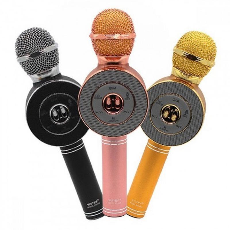 Микрофон-колонка bluetooth WS-668