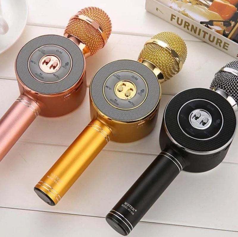 Микрофон-колонка bluetooth WS-668 - Фото 6