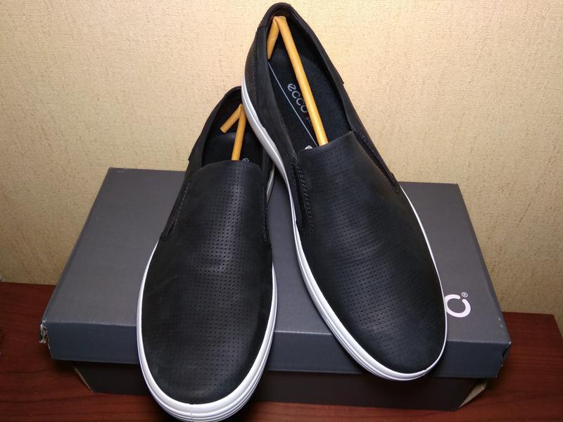 Туфли лоферы мужские ecco soft 7