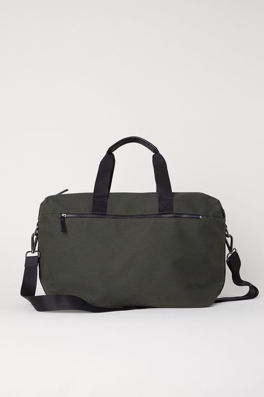 Холщовая дорожная сумка h&m !