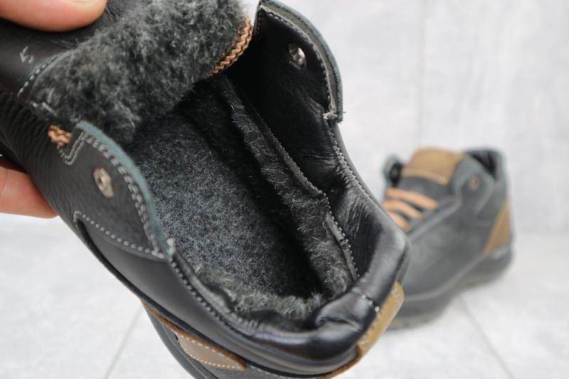 Мужские зимние кроссовки {натуральная кожа} - Фото 5