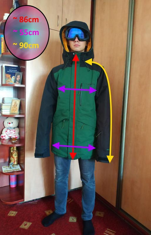 Лижна / сноуборд куртка Armada Atka GTX forest green GORE-TEX