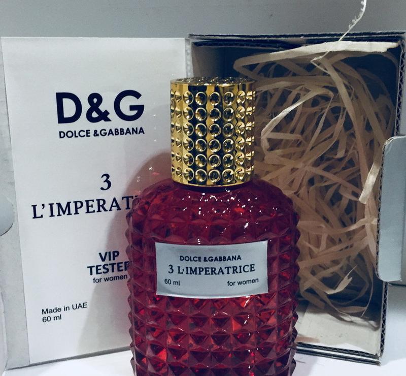 Женский парфюм d&g тестер vip - версия 60 мл