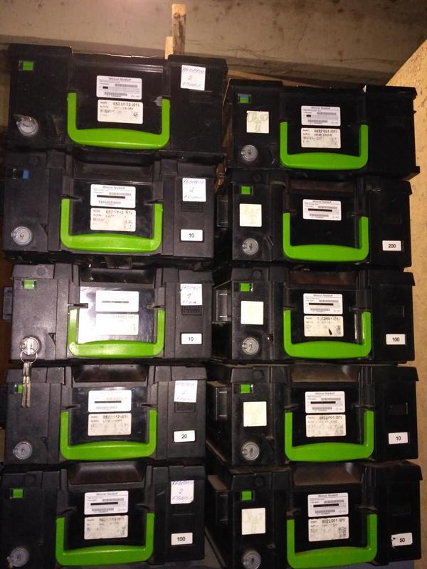 кассеты на банкоматы Wincor Nixdorf и NCR