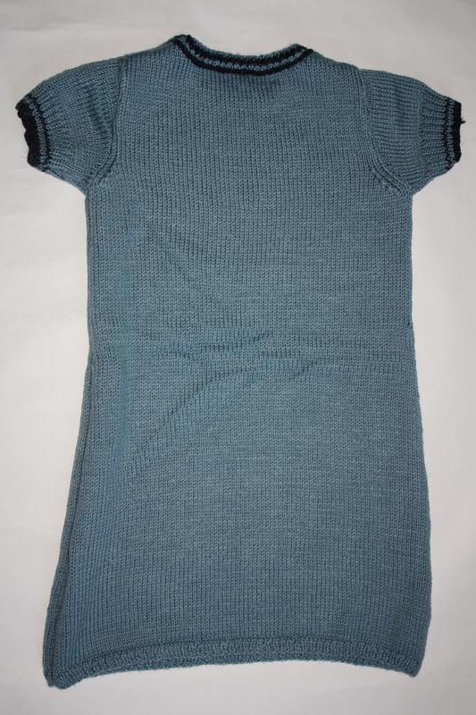Вязанное шикарное платье для девочки от 5до 8лет ,отличное сос... - Фото 2