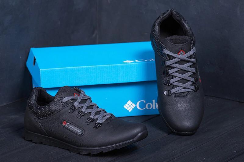 Мужские кожаные кроссовки Columbia 600 - Фото 6