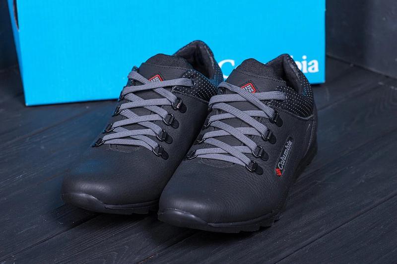 Мужские кожаные кроссовки Columbia 600 - Фото 5