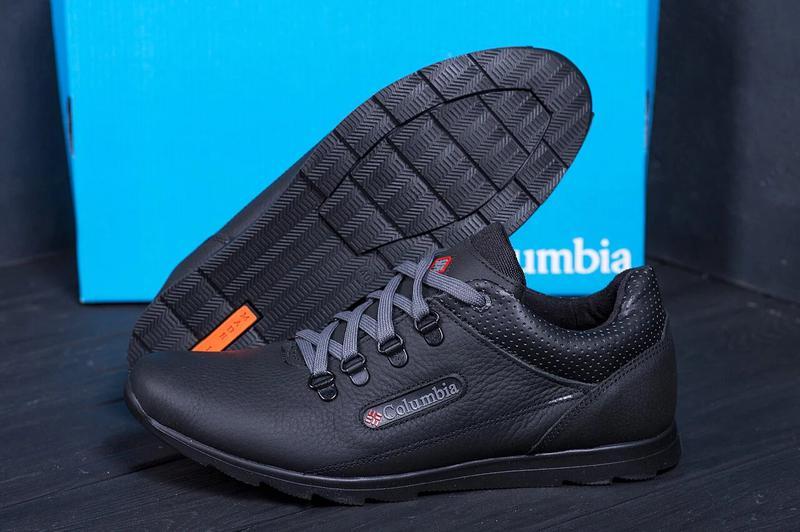 Мужские кожаные кроссовки Columbia 600 - Фото 2
