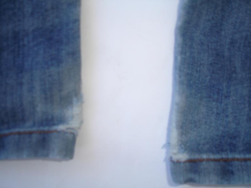 Фирменные next плотные джинсы с потертостями мальчику 7 лет ню... - Фото 5