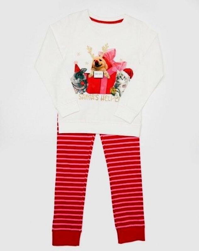 Милая пижамка на девочку от dunnes stores на 5-6, 7-8 лет
