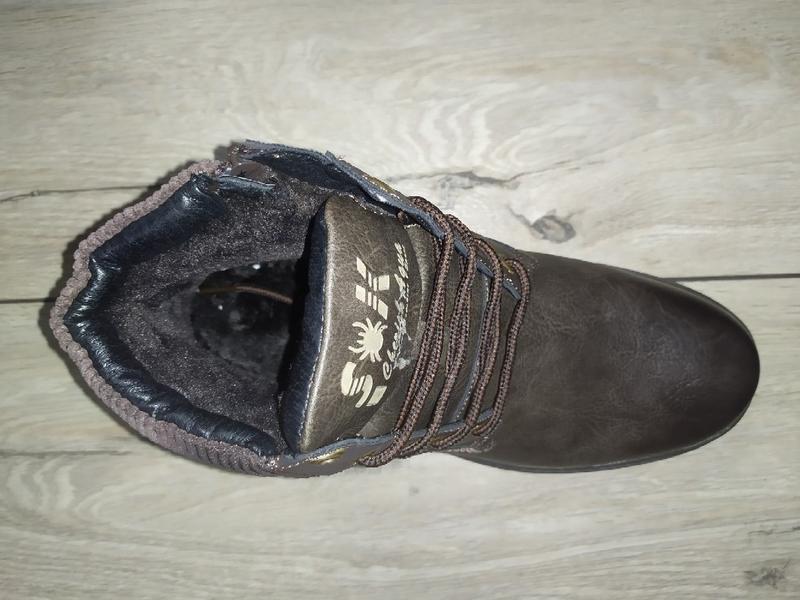 Зимние ботинки мужские спортивного типа  зимові чоловічі полуб... - Фото 2