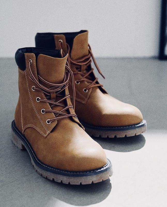 Высокие ботинки h&m !
