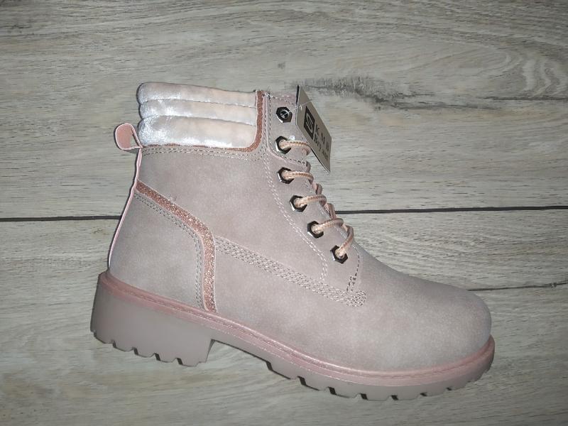 Теплые ботинки холодная осень - зима низкий ход  полуботинки