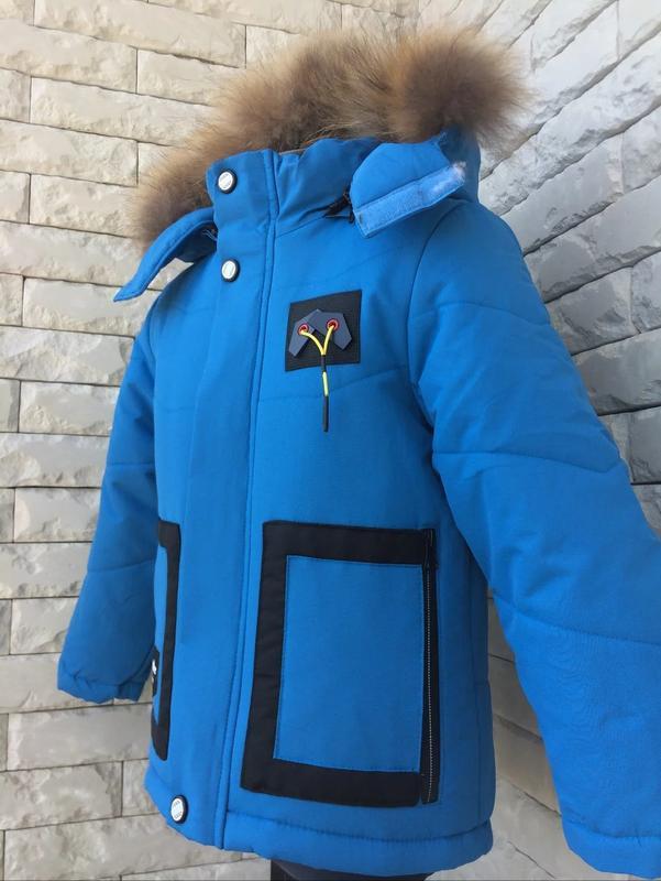 Куртка зимняя на мальчика. возраст: от 2 до 6 лет приблизительно.