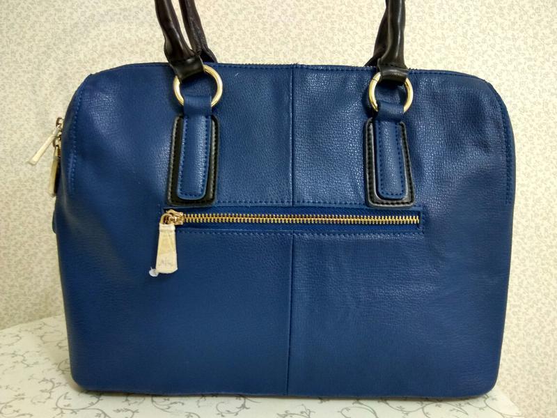 Кожаная сумка furla - Фото 3