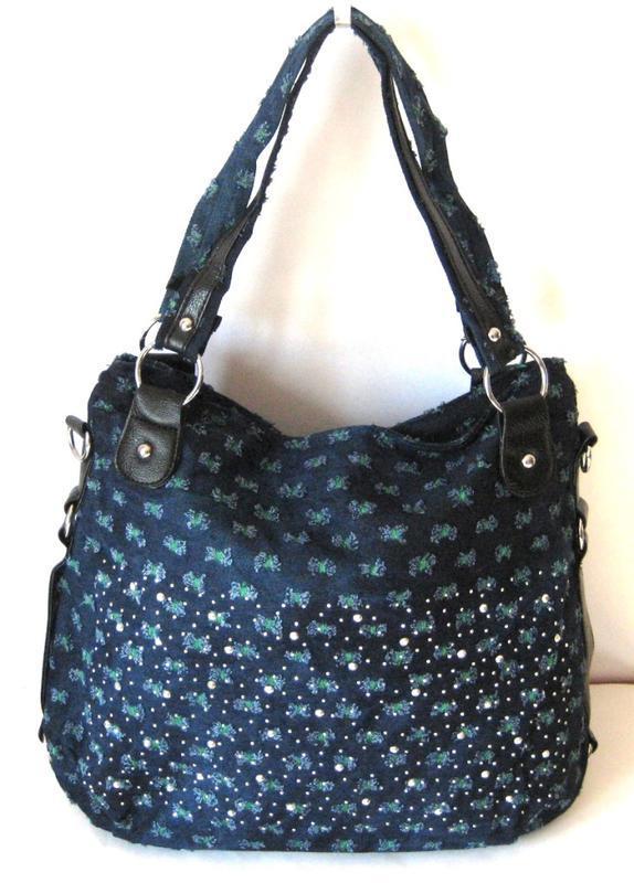 Джинсовые модные женские сумки модель 2018, недорого,