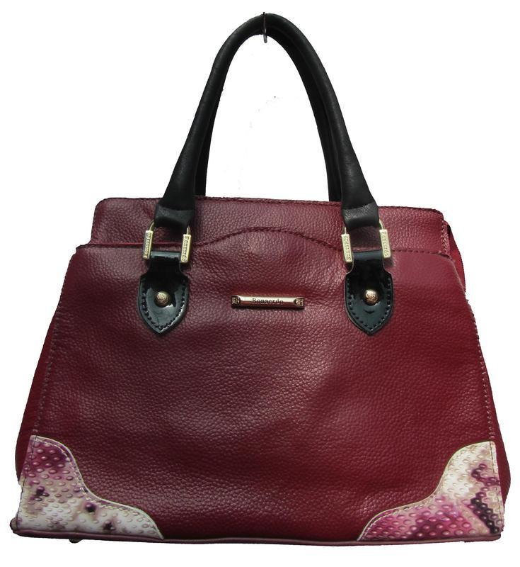 Кожаная сумка с длинным ремешком. уценка!