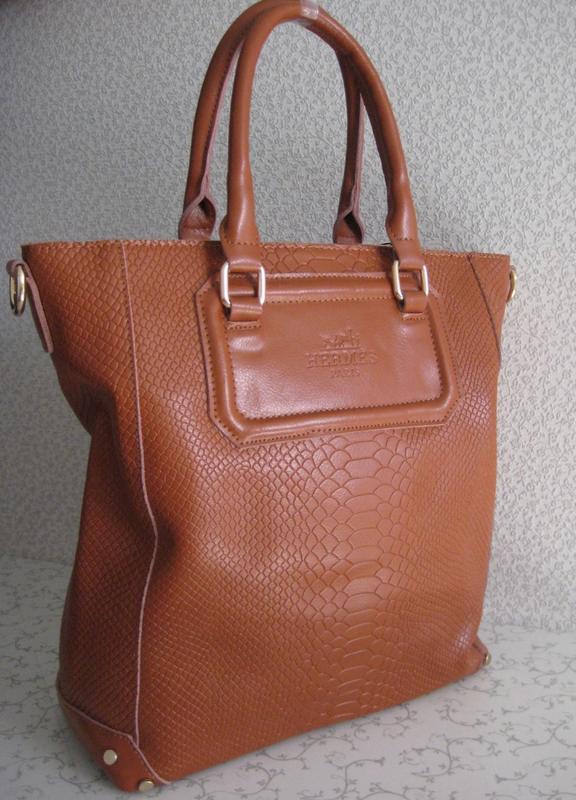Элитная кожаная сумка , натуральная кожа - модель 2018 - 2019....
