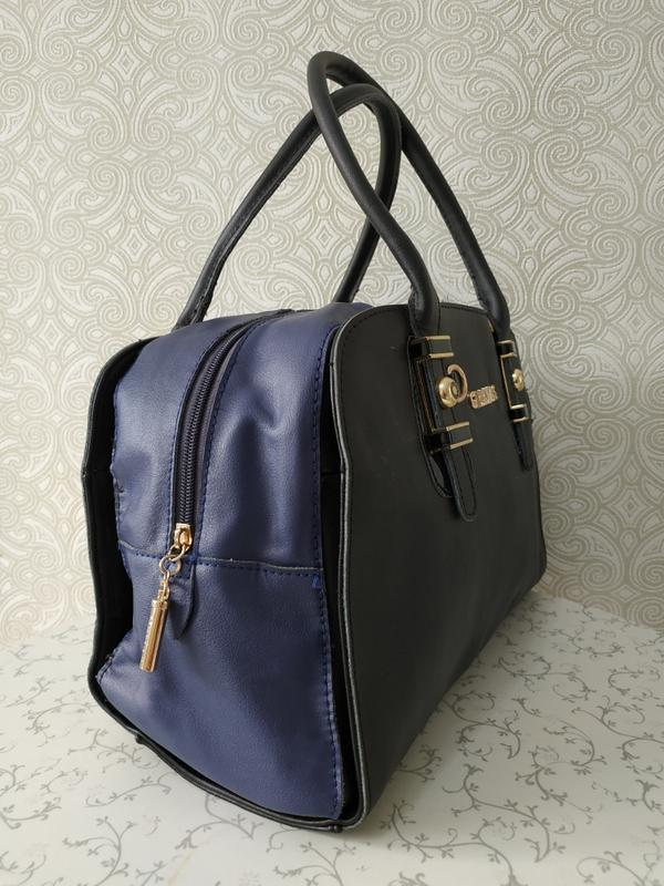 Кожаная женская сумка дешево, с ремешком через плечо. уценка. ... - Фото 2