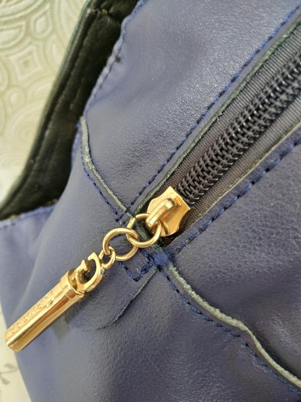 Кожаная женская сумка дешево, с ремешком через плечо. уценка. ... - Фото 4