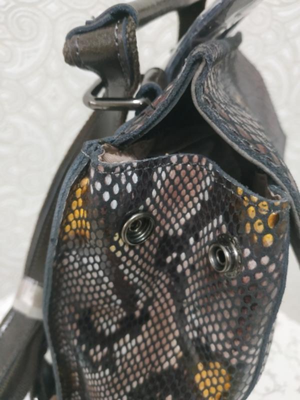 Кожаный рюкзак сумка, рюкзаки из натуральной кожи лазерной обр... - Фото 3