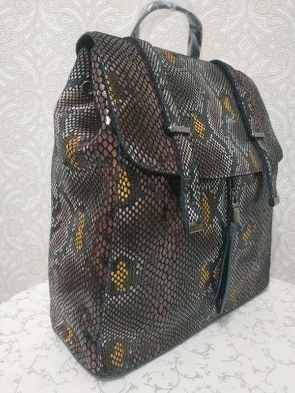 Кожаная сумка рюкзак, сумки рюкзаки из натуральной кожи лазерн...