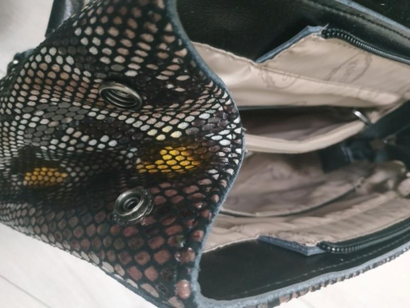 Кожаная сумка рюкзак, сумки рюкзаки из натуральной кожи лазерн... - Фото 4