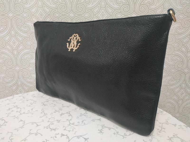 Кожаные черные сумочки cross body, через плечо - натуральная к...