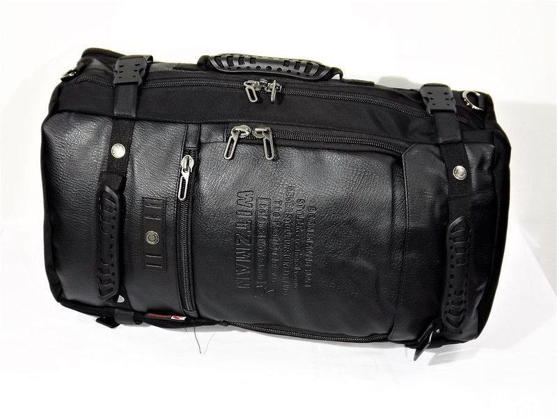 Рюкзак трансформер дорожная сумка для ноутбука портфель witzma... - Фото 2