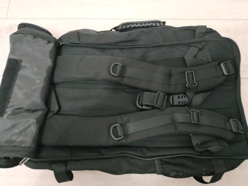 Рюкзак трансформер дорожная сумка для ноутбука портфель witzma... - Фото 4