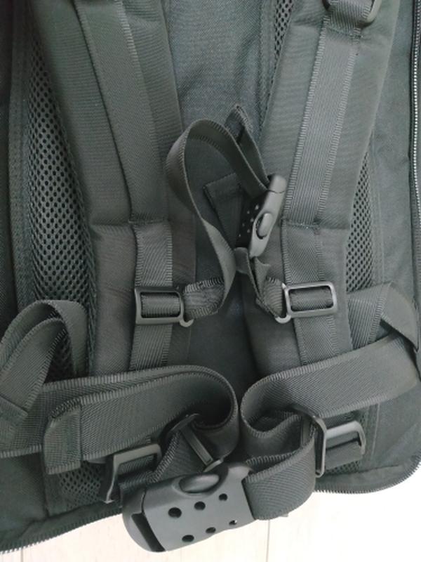 Рюкзак трансформер дорожная сумка для ноутбука портфель witzma... - Фото 5