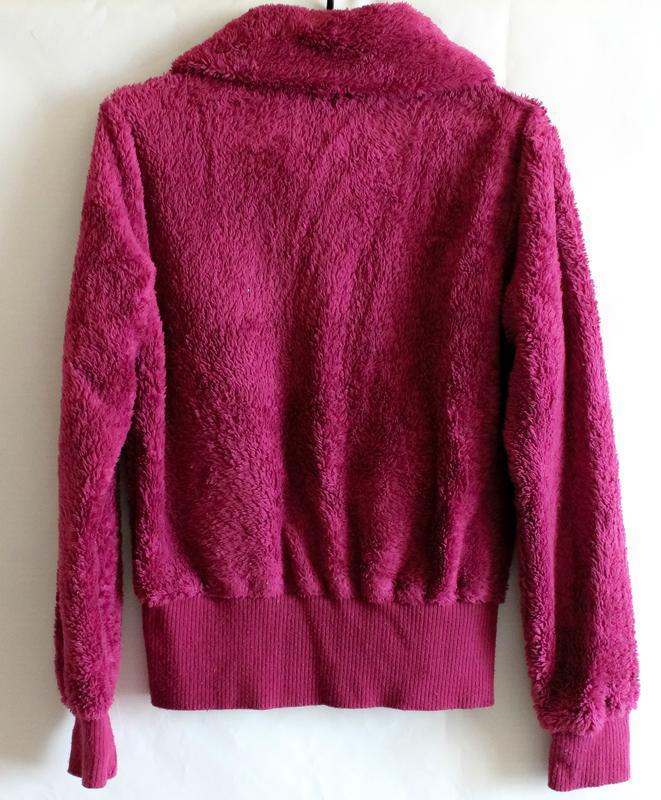 Махровая тёплая кофта цвета фуксии benhoo wear - Фото 5