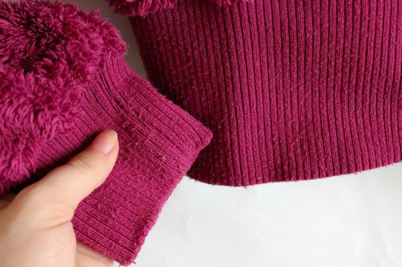 Махровая тёплая кофта цвета фуксии benhoo wear - Фото 8
