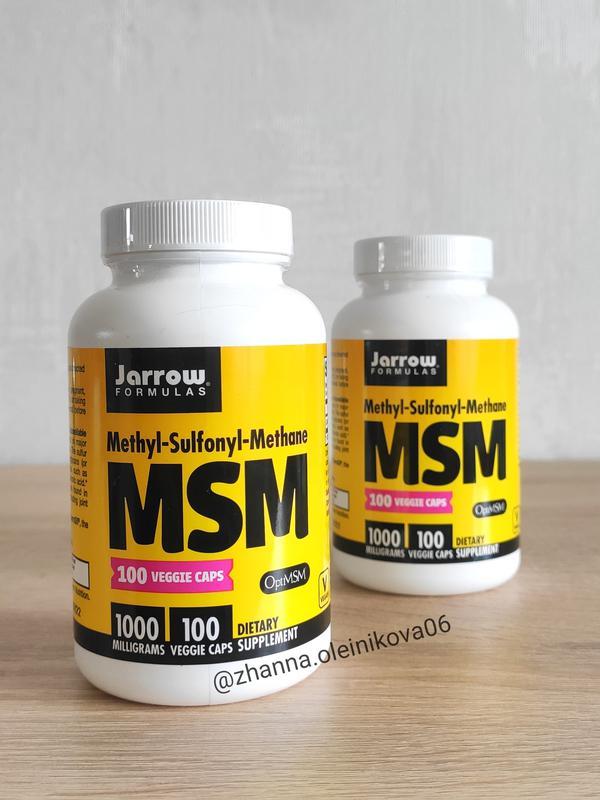 Jarrow Formulas, МСМ, 1000 мг, 100 капсул
