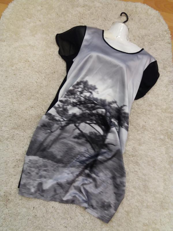 Платье принт вискоза - распродажа