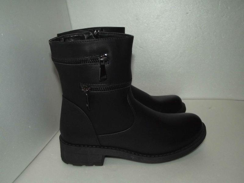 Демисезонніе женские ботинки