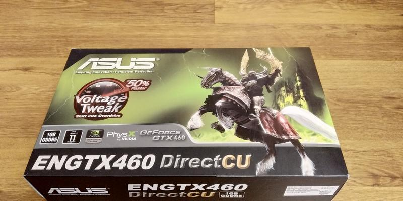 Видеокарта Asus GeForce GTX 460 (С АРТЕФАКТАМИ)