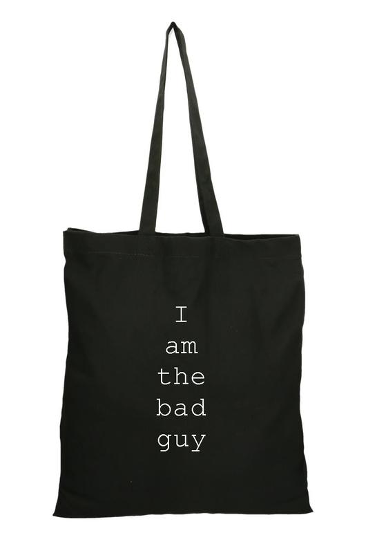 "Эко-сумка шоппер ""Bad guy"""