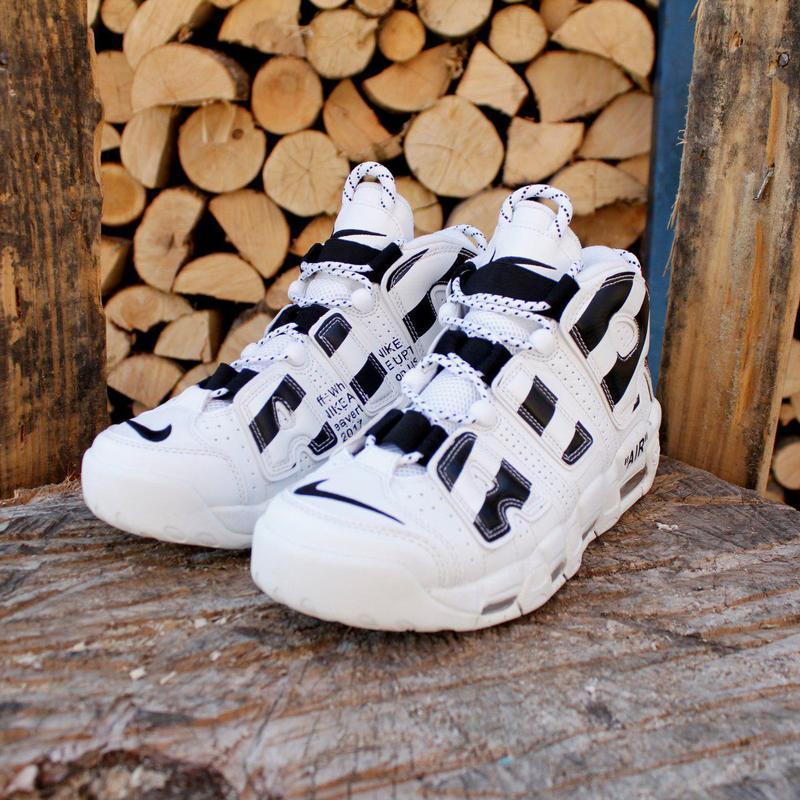 Шикарные кроссовки (весна/осень) nike air more uptempo - Фото 2