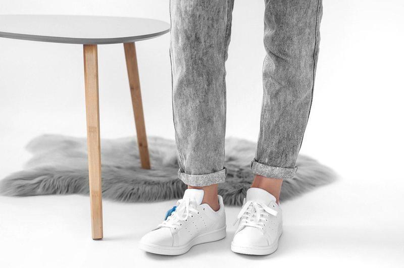 Шикарные женские кроссовки adidas stan smith (весна/ лето/ осень) - Фото 2