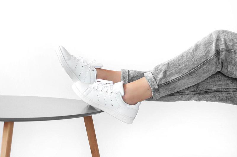 Шикарные женские кроссовки adidas stan smith (весна/ лето/ осень) - Фото 3