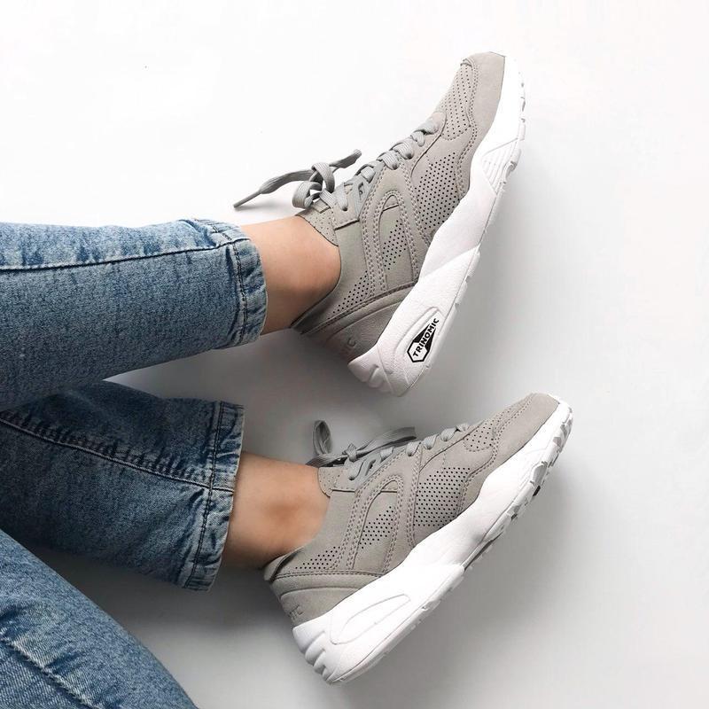 Шикарные женские кроссовки puma trinomic  (весна/ лето/ осень) - Фото 4