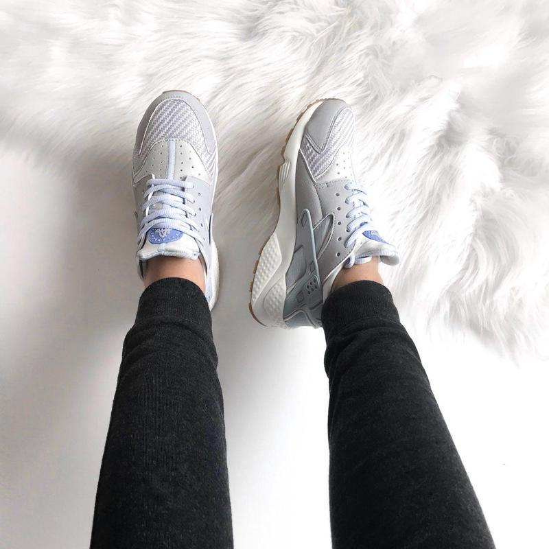 Шикарные женские кроссовки nike huarache (весна/ лето/ осень) - Фото 2