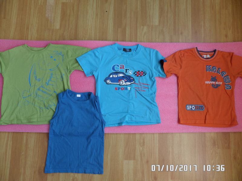 Комплект футболок 5-7 років