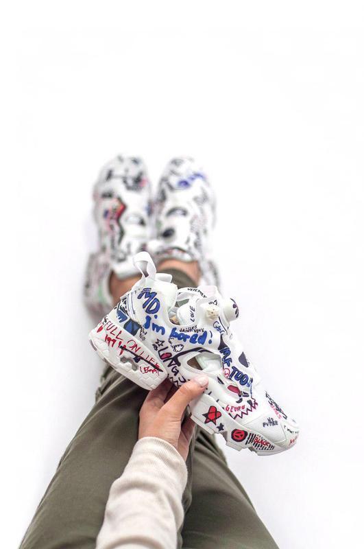 Шикарные женские кроссовки insta pump (весна/ лето/ осень)